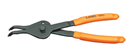 "LANG TOOLS 3493 .090"" Internal/External Retaining Ring Pliers - 45-degree"