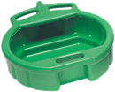 LISLE 17952 4.5 Gallon Anti-Freeze Drain Pan, Green