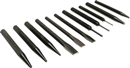 MAYHEW TOOLS 61411 11 Pc. Black Oxide Punch & Chisel Kit