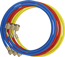 MASTERCOOL 45372 3 Pc. R12 Charging Hoses -- 72""