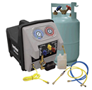 MASTERCOOL 69360 Twin Turbo Refrigerant Recovery System - 115V - 60Hz