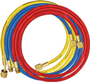 MASTERCOOL 84372 3 Pc. R134A Charging Hoses -- 72""