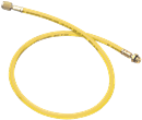 MASTERCOOL 84722 Yellow R134A Charging Hoses -- 72""