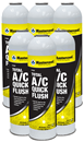 MASTERCOOL 91050-6 6 Pk. Total A/C Quick Flush Cans, 17.6 oz
