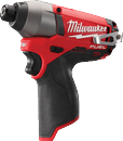 "MILWAUKEE ELEC. 2453-20 M12 Fuel™ 1/4"" Hex Impact Driver"