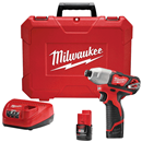"MILWAUKEE ELEC. 2462-22 M12™ 1/4"" Hex Impact Driver Kit"