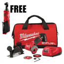 "MILWAUKEE 2522-21XCR38 M12™ FUEL 3"" Compact Cut Off Tool Kit"
