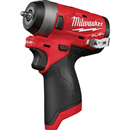 "MILWAUKEE 2552-20 M12 FUEL™ 1/4"" Stubby Impact Wrench, Bare Tool"