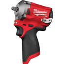 "MILWAUKEE 2554-20 M12 FUEL™ 3/8"" Stubby Impact Wrench, Bare Tool"