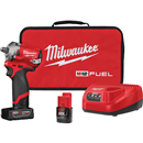 "MILWAUKEE 2555-22 M12 FUEL™ 1/2"" Stubby Impact Wrench Kit"