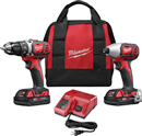 MILWAUKEE 2691-22 M18 Tool Combo Kit