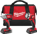 MILWAUKEE ELEC. 2693-22 M18™ Cordless 2-Tool Combo Kit