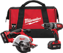 MILWAUKEE ELEC. 2698-22 M18™ Cordless Lithium-Ion 2-Tool Combo Kit
