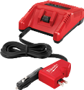 MILWAUKEE ELEC. 2710-20 M18™ Lithium-Ion AC/DC Wall & Vehicle Charger