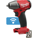"MILWAUKEE ELEC. 2758-20 M18 FUEL™ with ONE-KEY™ 3/8"" Compact Impact Wrench w/ Friction Ring, Bare Tool"
