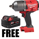 "MILWAUKEE 2767-20XB5 M18 FUEL™ High Torque 1/2"" Impact Wrench, Bare Tool"