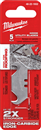 MILWAUKEE 48-22-1932 5 Pc. Hook Utility Knife Blades
