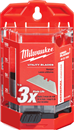 MILWAUKEE 48-22-1950 60 Pc. General Purpose Utility Blades with Dispenser