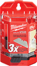 MILWAUKEE 48-22-1954 50 Pc. Carton Utility Knife Blades with Dispenser