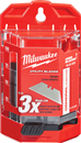 MILWAUKEE 48-22-1975 75 Pc. General Purpose Utility Blades with Dispenser