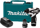"MAKITA U.S.A. FD01W 12V Max Lithium–Ion Cordless 1/4"" Hex Driver-Drill Kit"