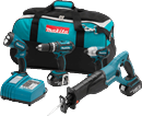 MAKITA U.S.A. LXT407 4 Pc. 18V LXT Combo Kit