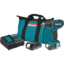 "MAKITA XFD10SY 18V LXT® Lithium-Ion Compact Cordless 1/2"" Driver-Drill Kit (1.5Ah)"