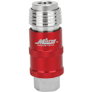 "MILTON 1750 5-in-1 Universal Safety Exhaust Quick-Connect Industrial Coupler, 1/4"" Female NPT"