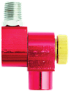 "MILTON S-657-2 1/4"" NPT Swivel Connector with flow control"