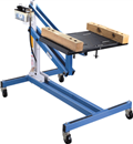 OTC TOOLS 1585A 1250 lb Power Train Lift with Tilting Plate