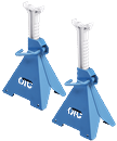 OTC TOOLS 1736A 6 Ton Capacity Ratcheting Jack Stands