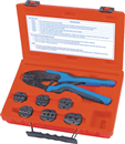 S&G TOOL AID 18960 Quick Change Ratcheting Terminal Crimping Kit