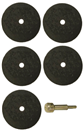"S&G TOOL AID 94970    (5) 1/16"" Cut-Off Wheels with Arbor"