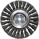 "SHARK INDUSTRY 760S 6"" Knotted Wire Wheel Brush"