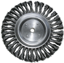 "SHARK INDUSTRY 787S 8"" Knotted Wire Wheel Brush"