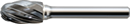 SHARK INDUSTRY BT36 OVAL ALUMINUM CARBIDE BUR