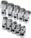 SK HAND TOOLS 1335 10 Pc.6 Pt. Flex Socket Set
