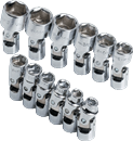 SK HAND TOOLS 1337 12 Pc, 6 Pt. Flex Socket Set