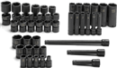 "SK HAND TOOLS 31036 39 Pc. 1/4"" Drive Metric High Visibility Impact Socket SuperSet®"