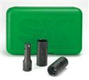 "SK HAND TOOLS 4043 3 Pc. 1/2"" Drive Flip Impact Socket Set"