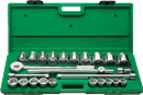 "SK HAND TOOLS 4725 25 Pc. 3/4"" Drive Fractional Set"