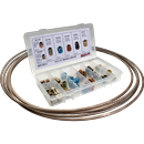 "S.U.R.& R. INC. BR-EZ14 1/4"" Brake Line Kit"