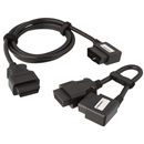 STEELMAN / JS 78757 2 Pc. Right Angle OBDII Extension Cable Set