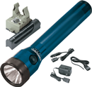 STREAMLIGHT 75073 Stinger® Rechargeable Flashlight with Battery & Charger, Blue