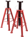 SUNEX TOOLS 1410 10 Ton High Height Pin Type Jake Stands (Pair)