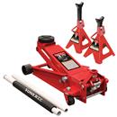 SUNEX TOOLS 66037JPK 3.5 Ton Capacity Service Jack with Quick Lifting System