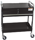 SUNEX TOOLS 8013ABK Black Service Cart