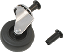 "SUNEX TOOLS 8503 2 1/2"" Replacement Casters For Creepers"
