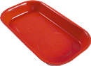SUNEX TOOLS 8813 Mighty Mag Rectangular Parts Tray - Red