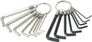 TITAN 32015 16 Pc. Hex Key Set